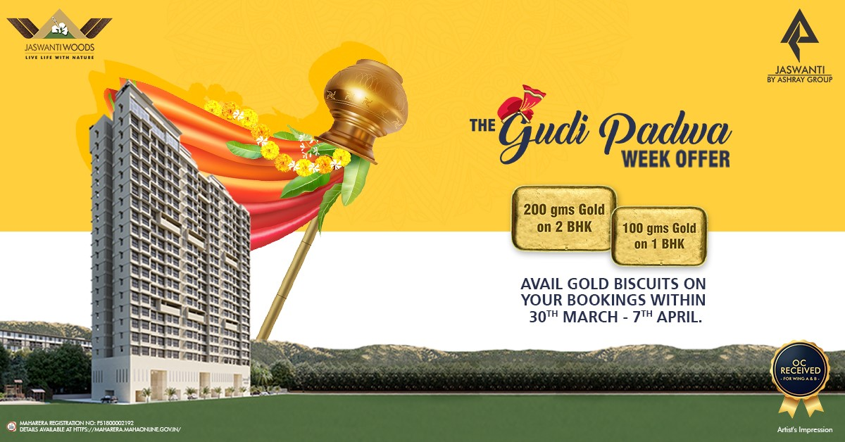 Gudi Padwa Offers In Real Estate